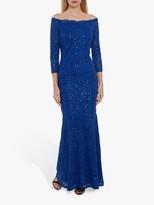 Gina Bacconi Acilia Sequin Lace Dress