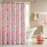 Intelligent Design Daniela Microfiber Printed Shower Curtain