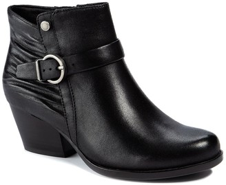 Bare Traps Russel Stacked Heel Bootie