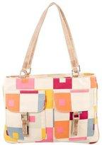 Marni Geometric Print Tote Bag