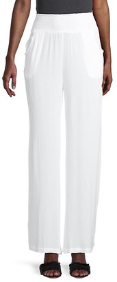Elan International Beach Elastic-Waist Pants
