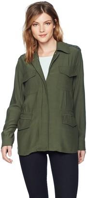 BB Dakota Women's Nico Studded Military Jacket