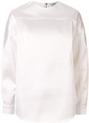 we11done satin blouse