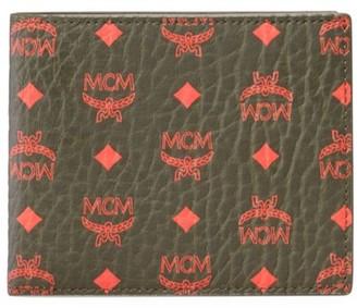 MCM Small Visetos Original Flap Bi-Fold Wallet