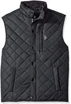 U.S. Polo Assn. Men's Diamond Quilted Vest