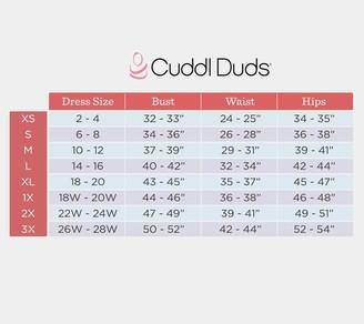 Cuddl Duds Softwear Stretch Handkerchief Hem Tee