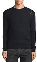 AllSaints Jace Distressed Rib Sweater