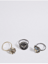 M&S Collection 3 Pack Ring Set