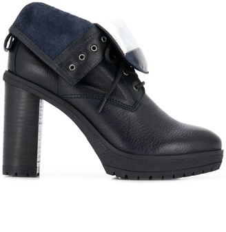Tommy Hilfiger lace-up heeled boots