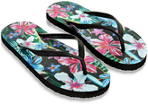 Monsoon Midnight Jungle Eva Flip Flops