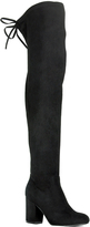 Refresh Black Jasmin Over-the-Knee Boot