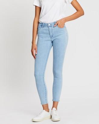 Lee Mid Ankle Skimmer Jeans