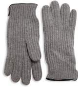 Portolano Ribbed Cashmere Gloves