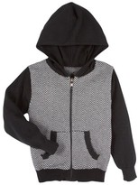Andy & Evan Infant Boy's Herringbone Hoodie