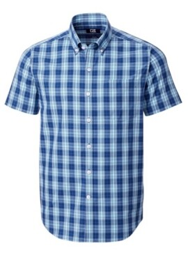 Cutter & Buck Men's Strive Shadow Plaid