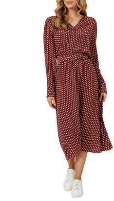 French Connection Spot Midi Dress