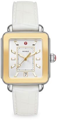 Michele Deco Sport Two-Tone Watch