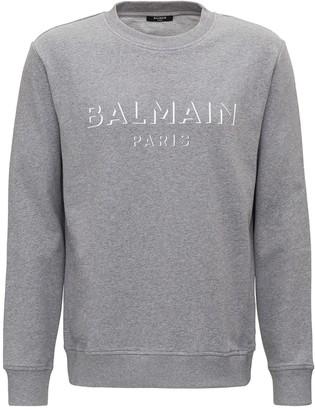 Balmain Sweatshirt With Paris Logo