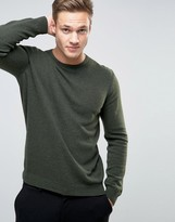 Benetton Merino Wool Crew Sweater