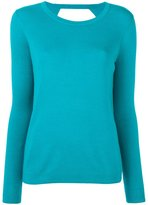 Diane von Furstenberg round neck slim-fit jumper - women - Silk/Merino - M
