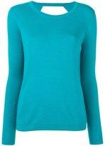 Diane von Furstenberg round neck slim-fit jumper