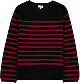 ZEF Cashmere striped Cork pullover
