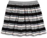 Kate Spade Girls' Striped Ponte Knit Skirt - Big Kid