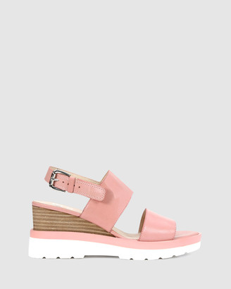 EOS Women's Pink Wedge Sandals - Jade - Size One Size, 40 at The Iconic