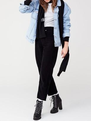 Calvin Klein Jeans Institutional Logo Slim Fit T-shirt - Light Heather Grey