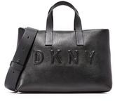 DKNY Debossed Logo Tote