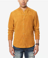 Sean John Men's Faux Suede Shirt-Jacket