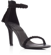 Joie Nia Braided Ankle Strap High Heel Sandals