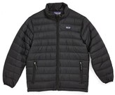 Patagonia Boy's Water Resistant Down Insulated 'Sweater' Jacket