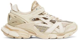 Balenciaga Beige Track.2 Sneakers