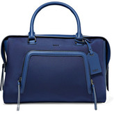 DKNY Leather-Trimmed Shell Tote
