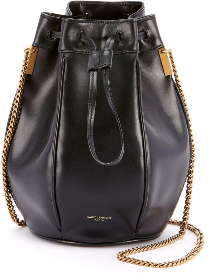 Saint Laurent Talitha Small Chain Bucket Bag