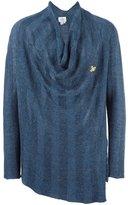 Vivienne Westwood loose-fit draped neck jumper - men - Linen/Flax/Polyimide - M