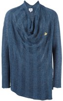 Vivienne Westwood loose-fit draped neck jumper - men - Linen/Flax/Polyimide - S