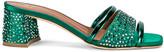 Malone Souliers Rosa 45 Mule in Emerald Green | FWRD