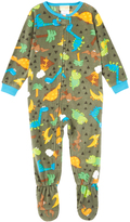 Komar Kids Green & Yellow Dino Footie - Toddler
