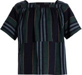 Ace&Jig Vista square-neck cotton top