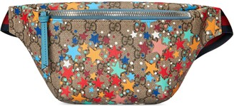 Gucci Children's GG star print belt bag