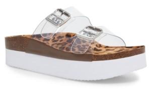 Madden-Girl Purr Flatform Footbed Sandals