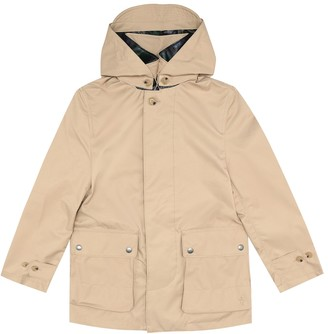 Polo Ralph Lauren Hooded twill coat