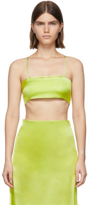 GAUGE81 Green Sienna Bra Tank Top