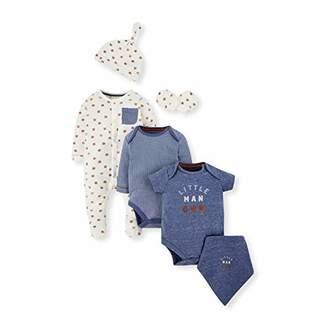 Mothercare Baby NB IP 6PCS Set Bodysuit,(Size:80)