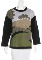 Altuzarra Graphic Pattern Knit Sweater