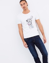 Replay Print Cotton Tee