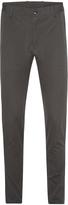 Oxford Slim Leg Cotton Trousers Gunmetal X
