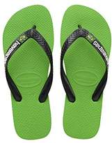 Havaianas Brasil Logo Unisex Adult's Flip Flops,(39/40 Brazilian) (41/42 EU)